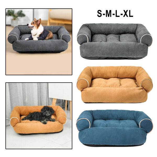 Dog Sofa Bed Bed Warm Nest House Warm Dogs House Cushion Bed for Small Dogs $73.49