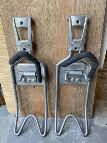 Rubbermaid Wall Mounted Bicycle Rack Two Pack $15.00