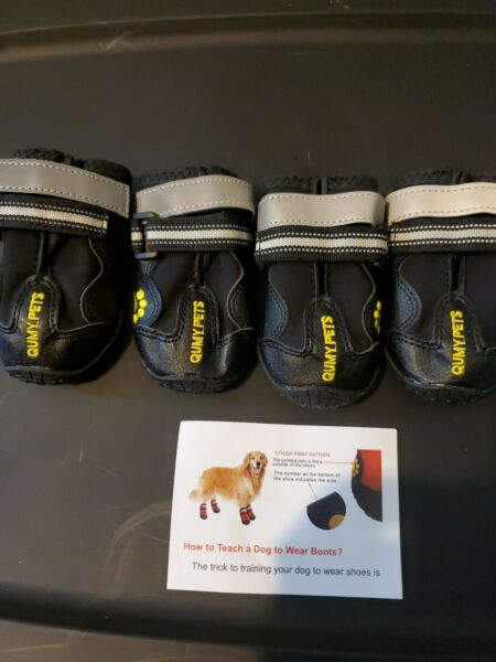 Pair size 3 QumyPets Dog shoes. $12.00