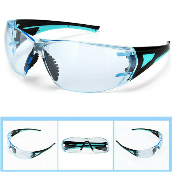 Safety Glasses Safety Goggles with Anti Fog coated Anti Scratch UV Protection
