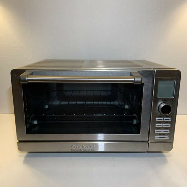 Works Great Cuisinart Deluxe Convection Toaster Oven Broiler CTO 270PC