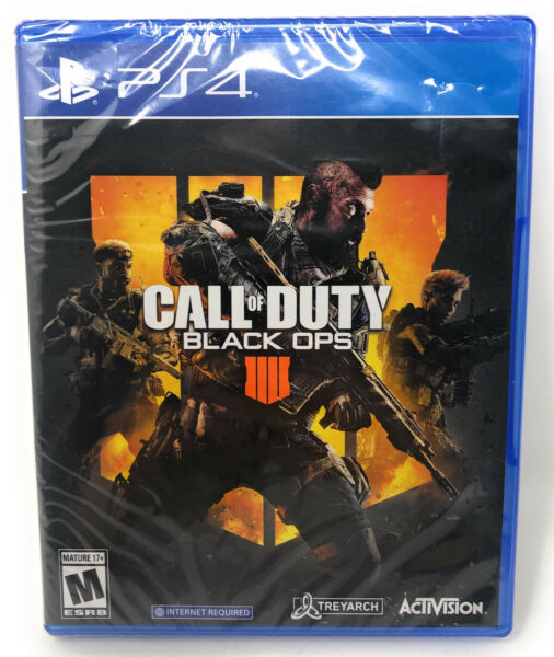 Call of Duty: Black Ops 4 PlayStation 4 Standard Edition Disc PS4 $17.99