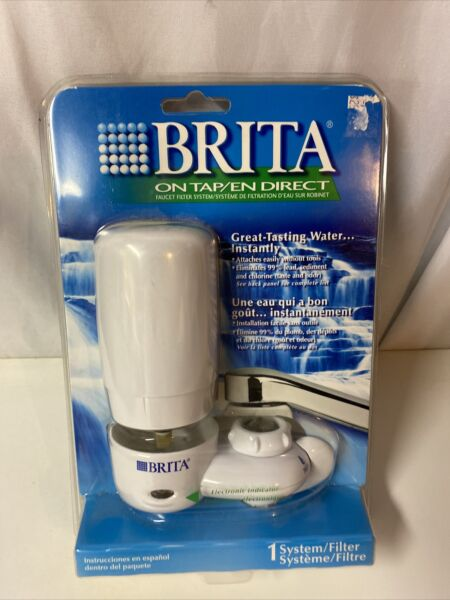 BRITA On Tap Faucet Filtration System MODEL FF 100 Electronic Indicato Light NEW
