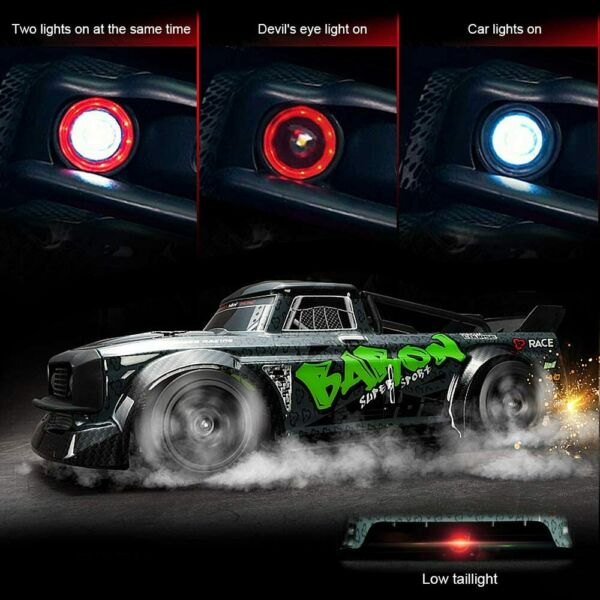 30KM H High Speed Remote Control Drift Car 4WD RC Racing Car Off road RTR Truck $67.78