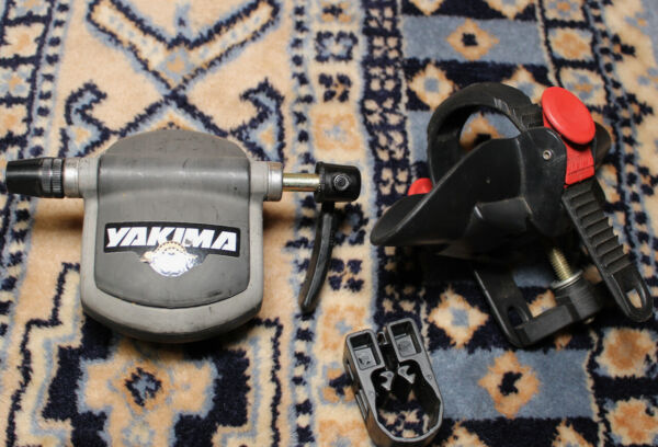 Yakima Boa Fork Mount Bike Roof Rack for Round Square Bars Complete with mounts $36.00