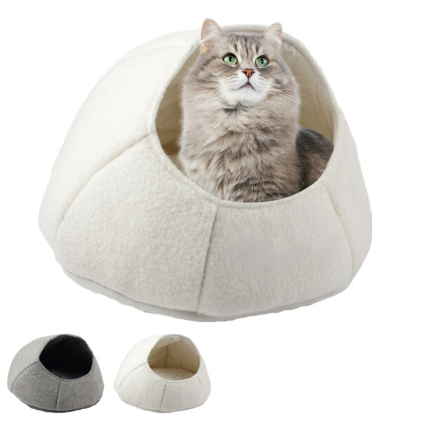 AFP Cat Bed Cave House Nest Calming Dog Beds for Small Dogs Cat Sleep Bed Warm $19.99