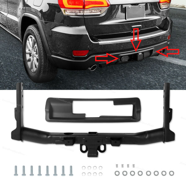 Trailer Hitch Receiver Hitch Bezel For 2011 2020 Jeep Grand Cherokee 82212180AD $189.04