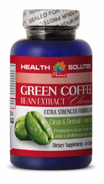 Organic green coffee beans GREEN COFFEE CLEANSE 400mg lose weight fast pills 1B