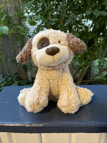 Wags and Purrs 10'' Wooly Dog Dog Toy Soft Plush Squeaker $11.99