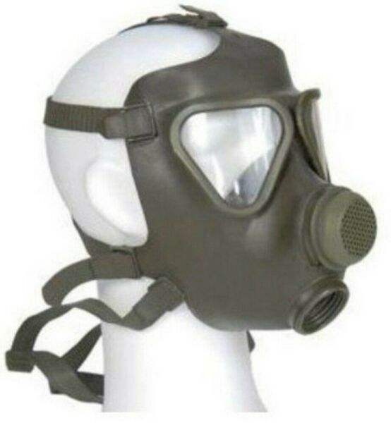German Military Surplus Drager M65 Gas Mask no Filter Size 2 $39.00