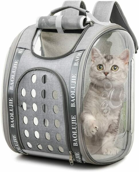 Cat Dog Carrier Backpacks Large Capacity Space Capsule Collapsible ### $13.99