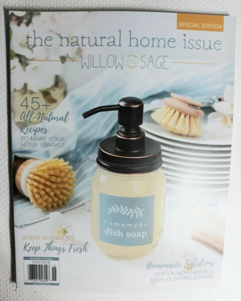 BRAND NEW quot;WILLOW AND SAGE NATURAL HOME ISSUE SPRING 2021 SPECIAL EDITION FR SH $11.49