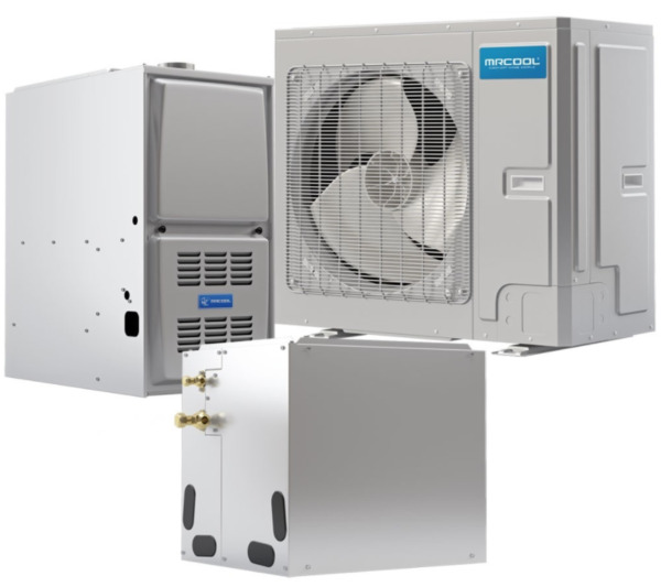 MrCool 4 to 5 Ton 20 SEER Universal cond amp;Acoil amp; 45k BTU 95% AFUE Gas furnace $4806.00