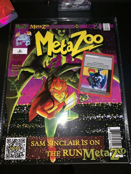 MetaZoo: Cryptid Nation Novel Comic Chapter #2 2nd Print With Promo Card SEALED $32.00
