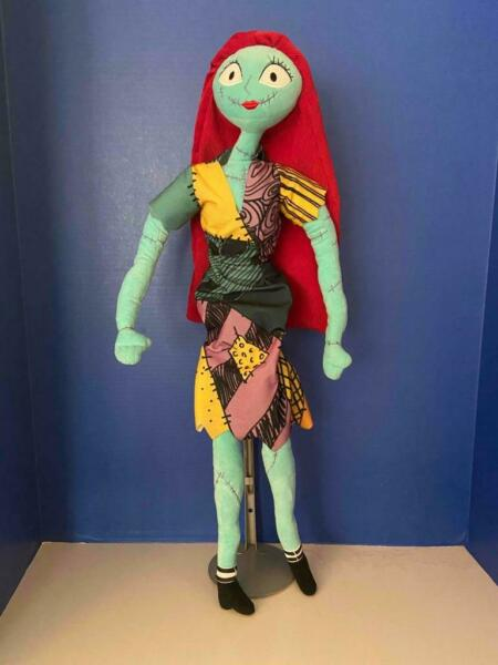 Nightmare Before Christmas Large 24quot; SALLY Plush Poseable Disney Doll EX $18.99