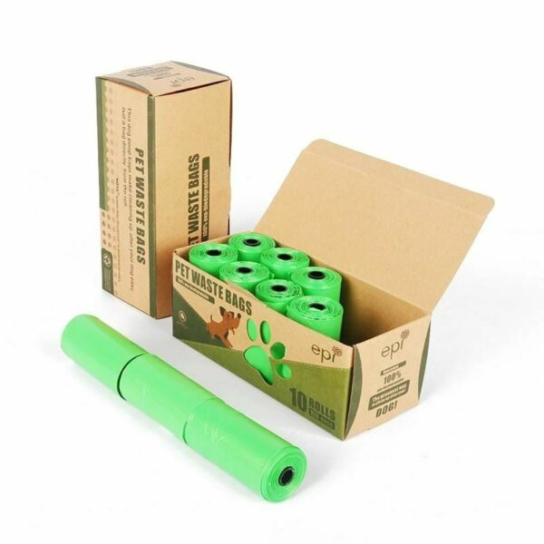 10roll 150pcs Biodegradable Dog Bags Eco Friendly Pet Garbage Bag FREE SHIPPING $30.00