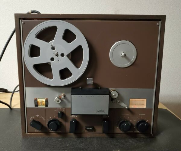 AMPEX Fine Line All TUBE F44 Reel To Reel