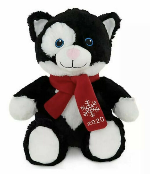 NWT Petsmart 2020 Squeaky Stuffed Plush Kid Pet Dog Toy Large 16quot; Lucky the Cat $8.99