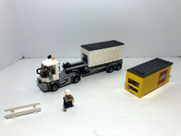 LEGO RC Train: Custom truck and two containers ONLY based on Maersk set 10219. $105.00