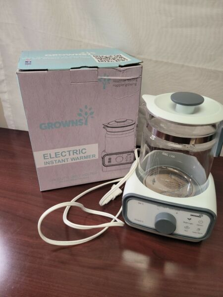 Growns K113 White Portable Electric Nigh Light Instant Warmer Capacity 1.3 L $24.99