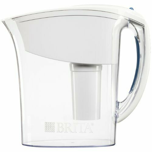 Brita Small 6 Cup Water Filter Pitcher with 1 Standard Filter BPA Free – Space
