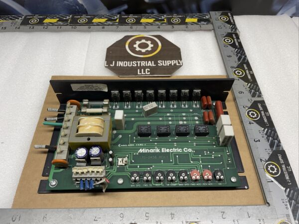 MINARIK ELECTRIC 170 0456 Rev. 1 Speed Control MULTIPLE IN STOCK GOOD TAKE OUTS $155.00