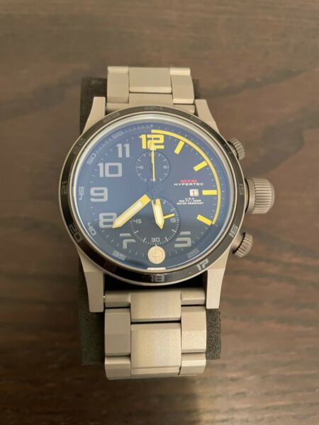 MTM Hypertec Chrono 2 Quartz Watch with Multiple Bands and Waterproof Storage Ca