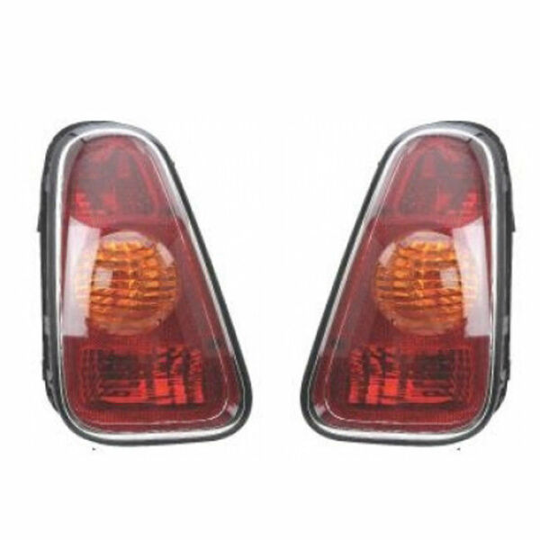 New Pair of Tail Lights Left & Right Fits 2002-2006 Mini Cooper