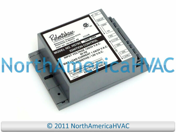 Robertshaw York Luxaire Coleman Furnace Control Circuit Board HS780 34NR 306A $187.95