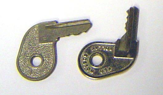 Replacement Pollak Ignition Boat Key Pistol Grip Johnson Evinrude ALL 1973 1977