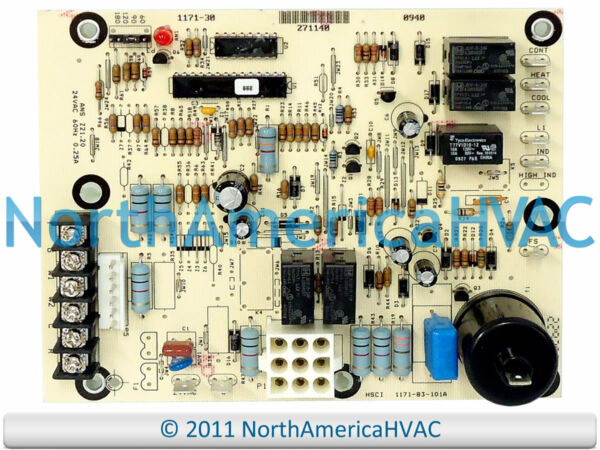 York Luxaire Coleman Furnace Control Circuit Board S1 03109175000 031 09175 000 $172.82