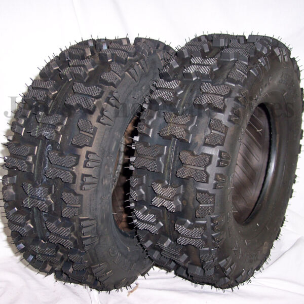 2 16x6.50 8 Kenda Polar Trac TIRES for Snow blowers throwers Tillers Go Karts