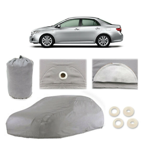 Fits Toyota Corolla 4 Layer Car Cover Fitted Water Proof Outdoor Rain Snow Sun
