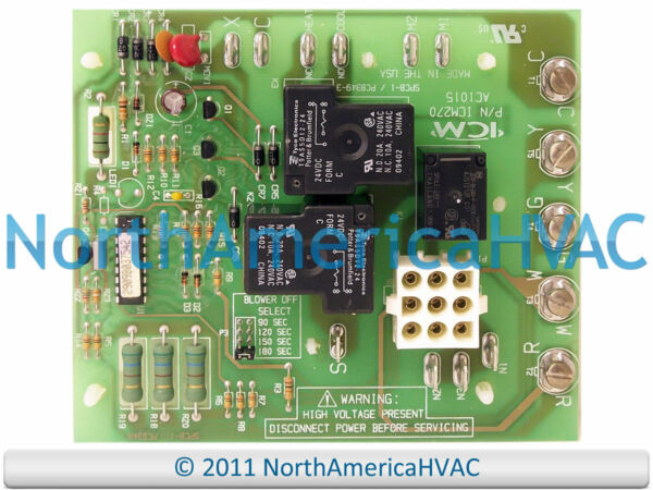 Coleman Evcon Furnace Blower Fan Control Circuit Board 2895-300 2895300