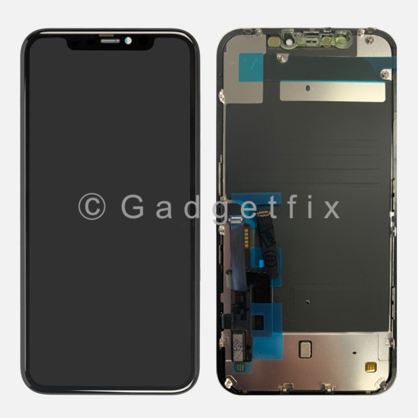 USA for iPhone 11 LCD Display Touch Screen Digitizer Back Plate Replacement