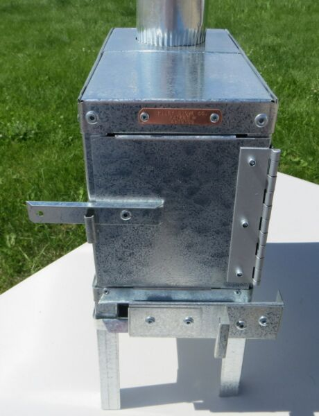 Baby Eagle Backpacker Wood Camp Tent Stove Riley Stoves