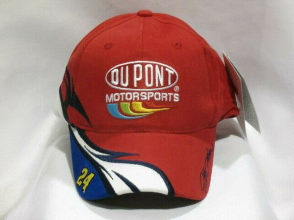 Jeff Gordon #24 DuPont Speed NASCAR Hat by Chase Authentics! NEW with tags!