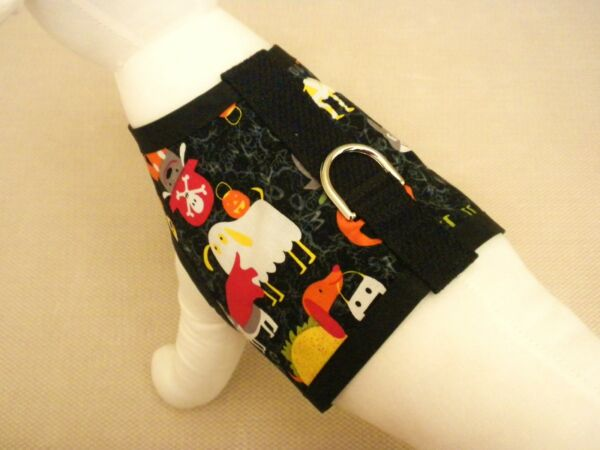Halloween Costume Dogs Dog Harness Vest Clothes Apparel $11.75