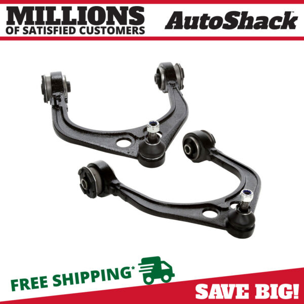Auto Shack CAK602-603 Front Upper Control Arm and Ball Joint Assembly Pair