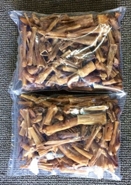 Natural Steer Ends amp; Pieces amp; Sticks 1Lb Bully Dog Chews Hard Dental Treat USA $24.99