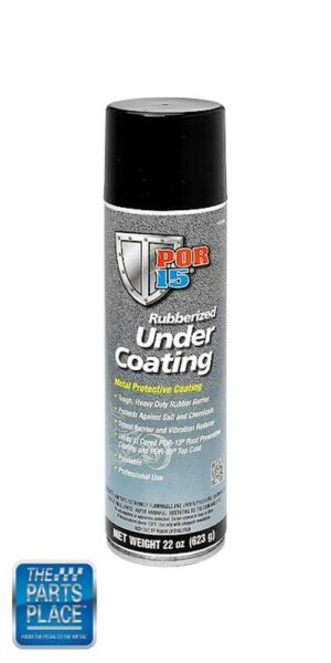 POR-15 POR 15 Rubberized Undercoating Spray Black 22oz Aerosol