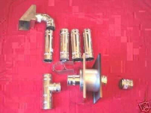 FLUE EXHAUST KIT for WOOD PELLETS and CORN PELLET STOVE FURNACE NEW $385.00