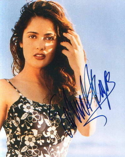 SALMA HAYEK.. Breathtaking Beauty - SIGNED