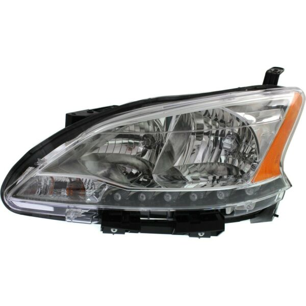 Headlight For 2013 2014 2015 Nissan Sentra Left With Socket and Wiring $84.31