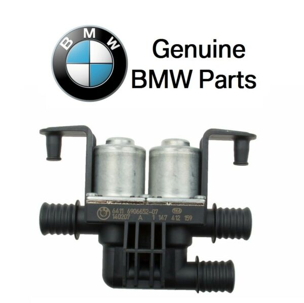 NEW BMW E60 E63 E64 525i 745i 745Li HVAC Heater Control 3-Way Valve Genuine