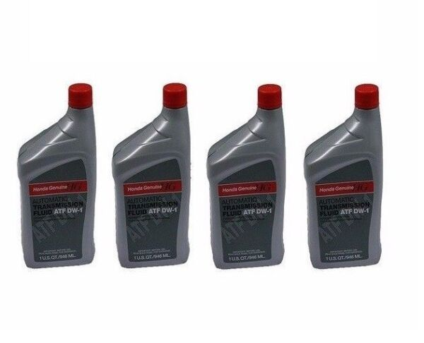 4 Quarts Genuine Fits Honda/Sterling ATF DW-1 Automatic Transmission Oil Fluid