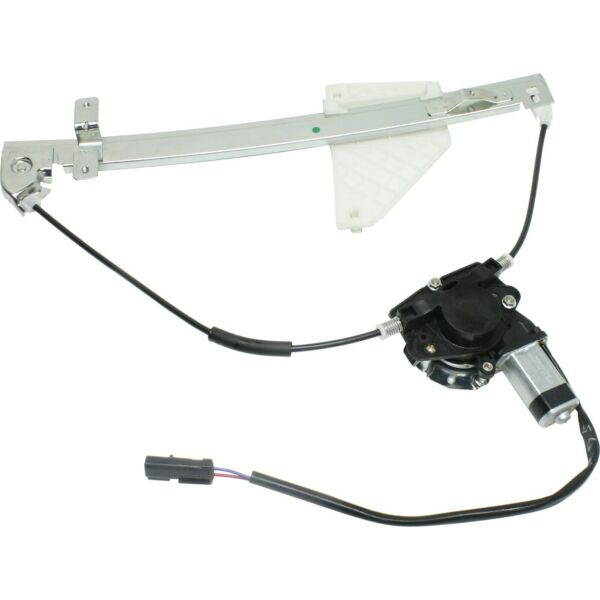 Power Window Regulator For 2001-2004 Jeep Grand Cherokee Rear Right with Motor