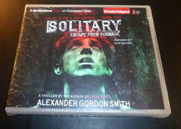 New quot;SOLITARYquot; Escape From Furnace 6 CD Audio book 2010 Smith Kalajzic SEALED $12.88