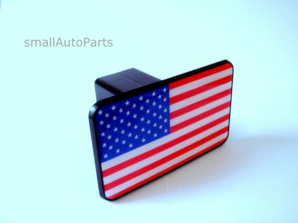 * USA AMERICAN FLAG TOW HITCH COVER * car truck suv trailer 2quot; receiver plug cap $11.95
