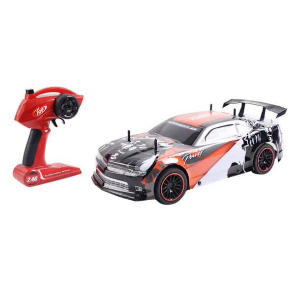 Goplus 1/10 Scale 2.4G 4CH Super High Speed Racing RC Remote Control Car Gift